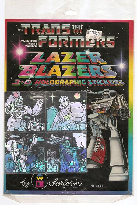 Transformers Lazer Blazers