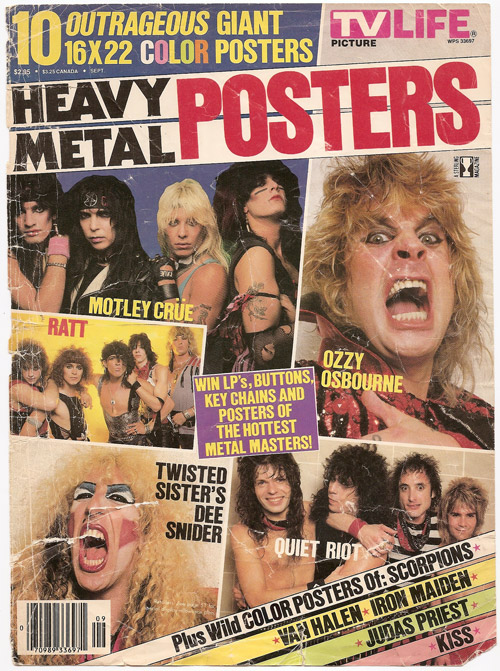 Heavy Metal Posters Cover