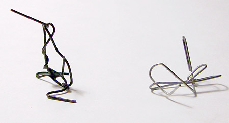Paperclip Sculpture